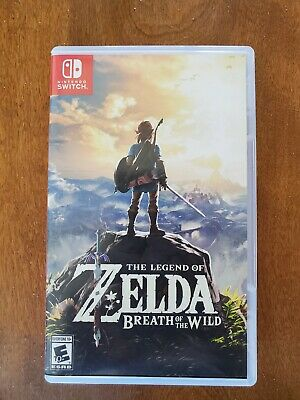 $30 • Buy Legend Of Zelda: Breath Of The Wild (Nintendo Switch, 2017)