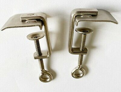 £11.50 • Buy A Pair Of Knitting Machine Table Clamps