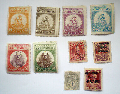 A Collection Of Crete Stamps Including Crete In Chains, France And Greece O/p • 0.99£