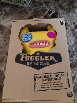 $ CDN9.99 • Buy NIB-Fuggler Funny-Ugly Monster Plush (Indecisive Monster, Yellow) (9 Inches)