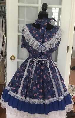 $15.70 • Buy  Square Dance Fun & Fancy 2pc Outfit Med  Bust 44   W 28-44  L-23