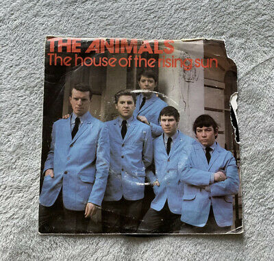 """£8.30 • Buy The House Of The Rising Sun, The Animals UK 7"""" Vinyl Single Record"""