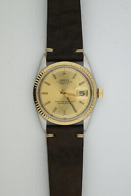 $ CDN1299.22 • Buy Rolex Oyster Perpetual Datejust 1601 36mm Head Only Running Well Pie Pan Dial Ch