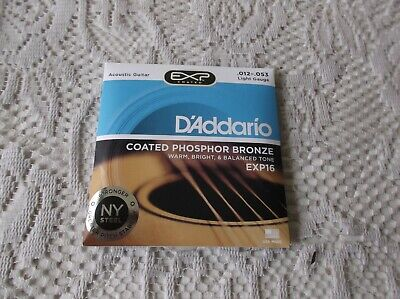 $ CDN15.50 • Buy  DAddario Acoustic Guitar Strings EXP16 12-53