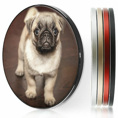 AU44.12 • Buy QI Wireless Charger For Apple Iphone 11/XS/8/Samsung S10/S9/S8 - Pug Puppy Dog