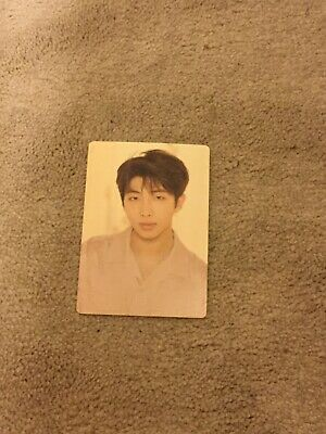 $0.99 • Buy Bts Love Yourself Tour Official Photocard, RM,New And Rare