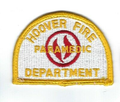 Hoover (Jefferson & Shelby County) AL Alabama Fire Dept. PARAMEDIC Patch - NEW! • 5.09£