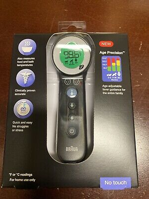 $ CDN161.03 • Buy New Braun No Touch BNT400 Digital Thermometer Forehead Non Contact Infrared LCD
