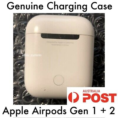 AU79 • Buy Original Apple AirPods Charging Case Only 1. Genuine Works With Gen 1 Or Gen 2