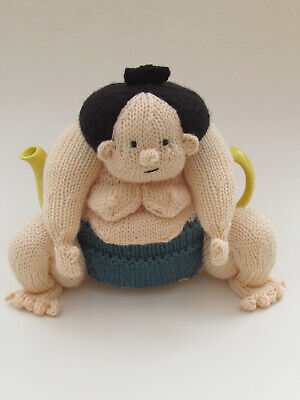 £3.85 • Buy Sumo Wrestler Tea Cosy Knitting Pattern To Knit Your Own Japanese Sumo Tea Cosy