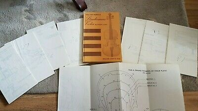 Rare Book How To Build A Stradivarius Violin • 55£