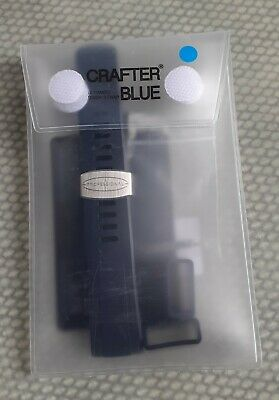 Crafter Blue Cb08 Seiko Srp Turtle Silicone Divers Watch Strap 22mm. Full Set. • 26.78£