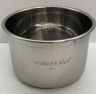 $18.50 • Buy Replacement Bowl Only For InstaPot DUO Mini 3 Quart Stainless Steel Liner Pot