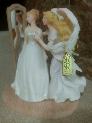 $39.99 • Buy Seraphim Classic Angels Heather  Happily Every After  8  Porcelain W COA  MINT