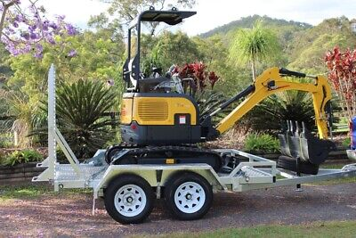 AU37900 • Buy Carter CT16 Mini Excavator Diesel With Trailer