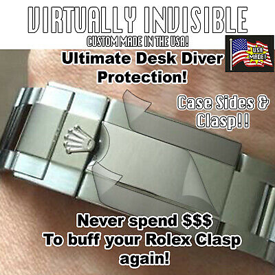 $ CDN205.01 • Buy For Rolex Explorer II 216570 Protector Clasp Case Sides Cryst Bez Full Links X2