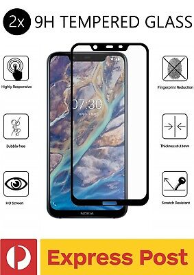 AU13.97 • Buy 2x Nokia 7.1 Plus 9H Tempered Glass DropProof Slim Tough Screen Protector