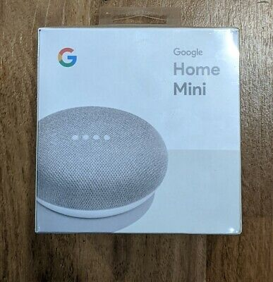 AU31 • Buy Google Home Mini Smart Assistant - Chalk Brand New In Box