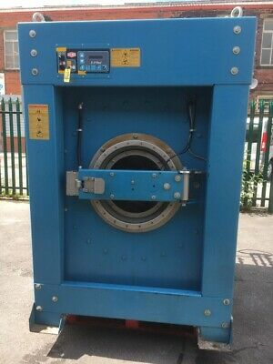 MILNOR 100LB Commercial Industrial Steam Heat Fully Washing Machine 2010 Model • 6,000£