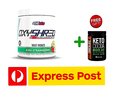 AU71.99 • Buy EHPlabs Oxyshred ALL FLAVOURS EHPLabs + KETO COCOA HOT CHOCOLATE + FREE EXPRESS