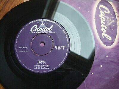 Stan Kenton & His Orch - Tequila - 7  Uk Capitol Cl 14847 /1958 In Co.sleeve Ex! • 7.99£