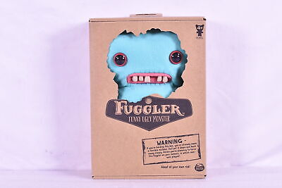 $ CDN17.46 • Buy Fuggler Funny Ugly Gaptooth McGoo 9  Light Blue Monster