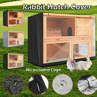 £14.89 • Buy 4ft Large Double Rabbit Hutch / Guinea Pig Run / Deluxe Pet Hutches / Cage Pets