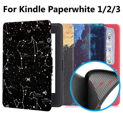 Cover Leather Protective Shell Smart Case For Amazon Kindle Paperwhite 1/2/3 • 6.71£