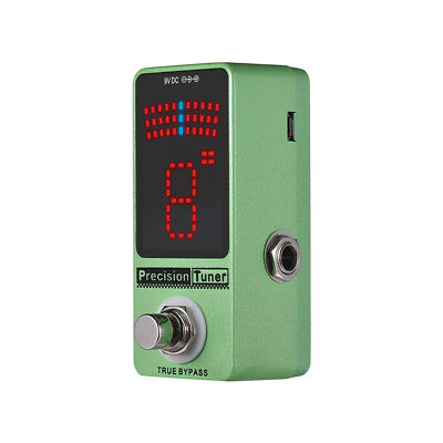 $ CDN31.28 • Buy Precision Tuner Pedal LED Display With True Bypass For Chromatic Guitar C3Q4