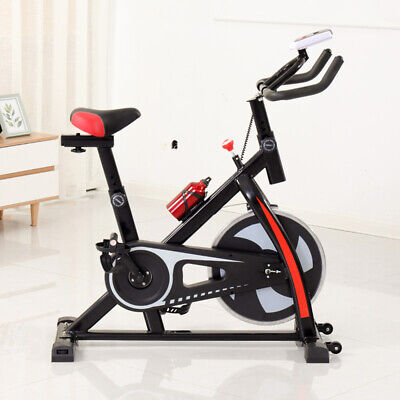 Home Gym Exercise Bike Studio Cycle Indoor Training -12kg Spinning Flywheel • 129£
