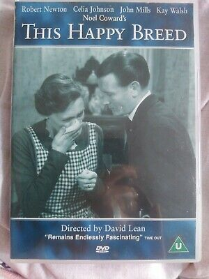 This Happy Breed DVD Region 2 1944, 2000 • 9.99£