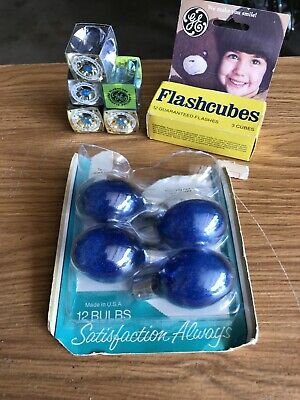 $10 • Buy VINTAGE FLASH BULBS Flash Cubes LOT