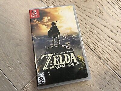 $40 • Buy The Legend Of Zelda Breath Of The Wild (2017, Nintendo Switch) Brand New Sealed