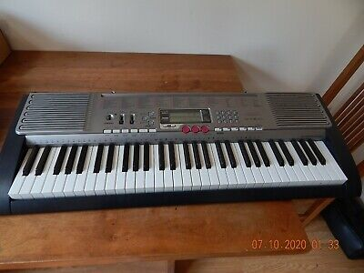 $119.99 • Buy Casio LK-230 61-Key Lighted Portable Arranger Keyboard TESTED AND WORKS