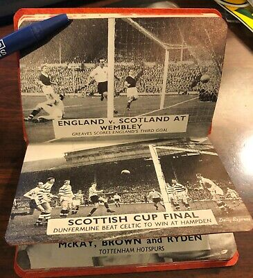 $ CDN1.25 • Buy 1962 The  Legible  Soccer Diary,  2 3/4  X 4 , Lots Of Pictures & Stats And Info
