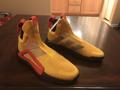 $ CDN93.09 • Buy New Adidas N3xt L3v3l Next Level Yellow Sneaker Shoes Size US 13.5