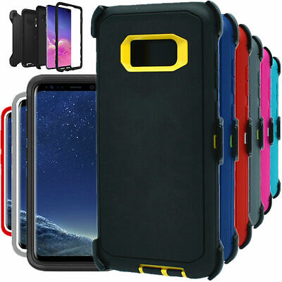 $ CDN10.64 • Buy For Samsung Galaxy S8 S8 + Plus Shockproof Hard Case Clip Fits Otterbox Defender