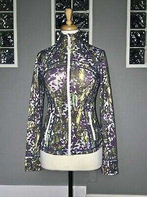 $ CDN61.20 • Buy Lululemon Define Jacket 6 Floral Sport Multi White Euc