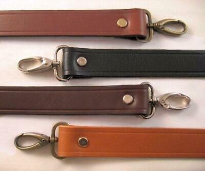 $12.48 • Buy 1 In. Leather Shoulder Purse Handbag Replacement Strap - Choice Of 4 Colors