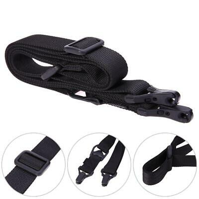 $ CDN11.49 • Buy 2 Point Tactical Rifle Sling Military Wargame Paintball Hunting Gun Adjust Strap