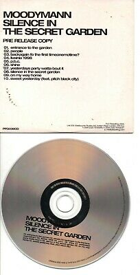 Moodymann Rare Uk Promo Cd In Card Ps Silence In The Secret Garden • 8£