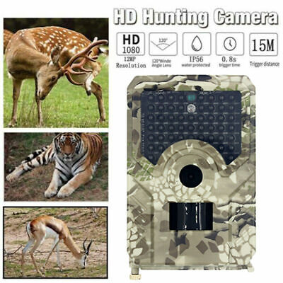 £22.99 • Buy Wildlife Trail Camera 1080P Night Vision For Outdoor Home Security Surveillance