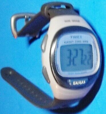 $ CDN29.46 • Buy Blue & Grey Timex T5k539 Heart Rate Monitor Digital Watch (watch Only)
