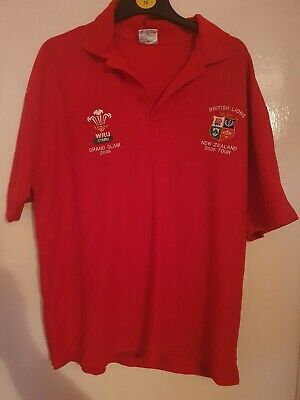 Wales Rugby Grand Slam 2005 Polo Shirt • 2.50£