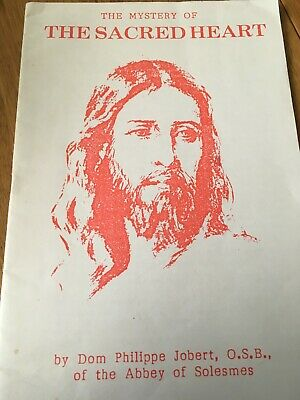 Catholic Booklet The Mystery Of The Sacred Heart Of Jesus • 3.99£
