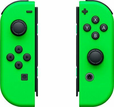 $46 • Buy Official Joy-Con (L/R) Wireless Controllers For Nintendo Switch - Neon Green-3
