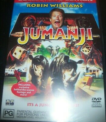 AU13.49 • Buy Jumanji Collector's Edition (Robin Williams) (Australia Region 4) DVD – NEW