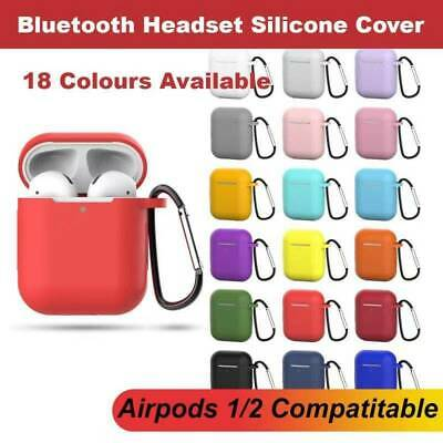 AU4.90 • Buy Apple Airpods 1 2 Shockproof Silicon Gel Case Cover Wireless Charging Airpod
