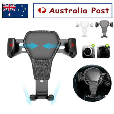 AU9.99 • Buy Universal Car Cradle Air Vent Mount Holder Stand For Smart Mobile Phone