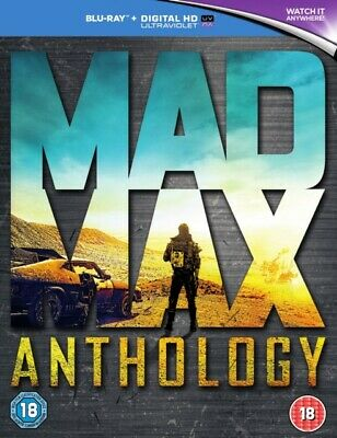 AU55.95 • Buy Mad Max Anthology Mad Max 1 + 2 + Beyond The Thunderdome + Fury Road Blu Ray RB